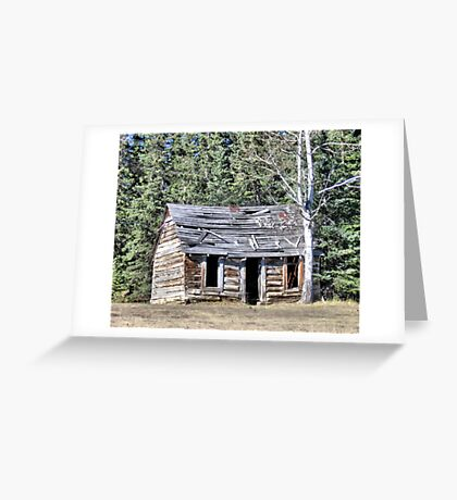 The Preachers Cabin Greeting Card