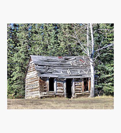 The Preachers Cabin Photographic Print