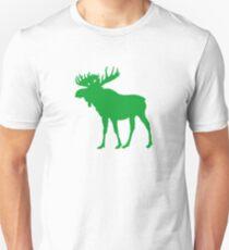 Moose: Pine Green Unisex T-Shirt