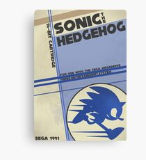 Megadrive - Sonic the Hedgehog Canvas Print