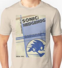 Megadrive - Sonic the Hedgehog Unisex T-Shirt