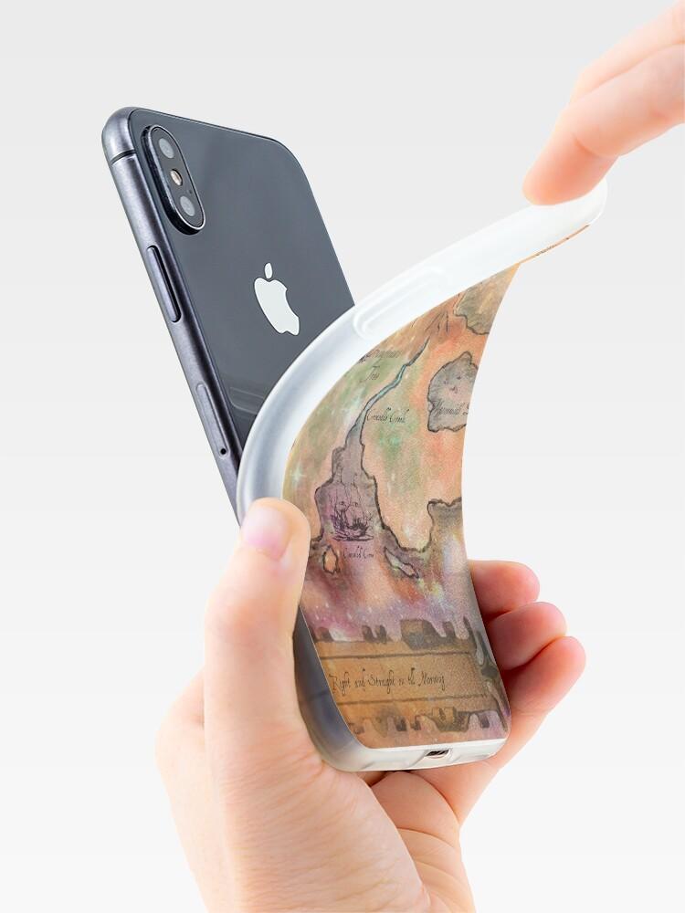 Alternative Ansicht von Neverland Karte iPhone-Hülle & Cover
