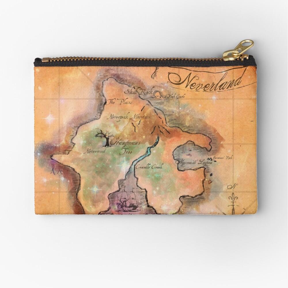 Neverland Karte Täschchen