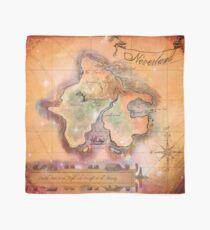 Neverland Karte Tuch