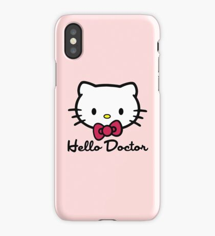 Hello Doctor iPhone Case/Skin