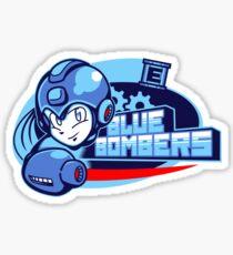 Blue Bombers Sticker