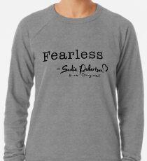 """Sudadera ligera """"Fearless"""" de Sadie Robertson"""