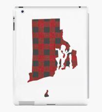 Rhode Island Plaid in Red iPad Case/Skin