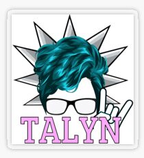 Talyn Transparent Sticker