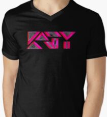 KP UNIQUE KATY Men's V-Neck T-Shirt