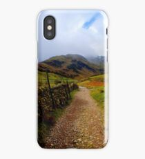 The Path to Mickleden iPhone Case/Skin