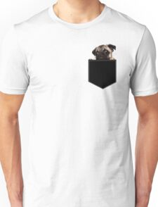 Pug Pocket Unisex T-Shirt