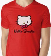 Hello Sweetie Men's V-Neck T-Shirt