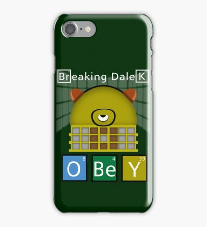Breaking Dalek iPhone Case/Skin