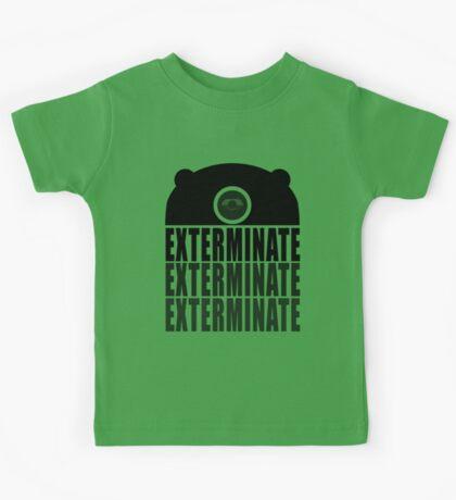 EXTERMINATE EXTERMINATE EXTERMINATE Kids Clothes