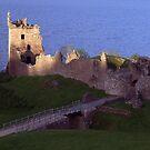 Urquhart Castle by Alexander Mcrobbie-Munro