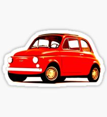 Original Fiat 500 Sticker