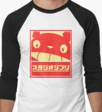 Ghibli Men's Baseball ¾ T-Shirt