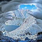 Snow Cave Shutter by Rosalee Lustig