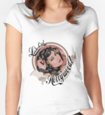 Look Out Hollywood Women's Fitted Scoop T-Shirt