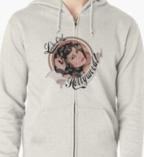 Look Out Hollywood Zipped Hoodie