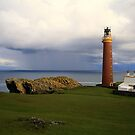 Lighthouse  Butt of  Lewis by Alexander Mcrobbie-Munro