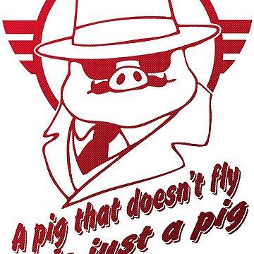 Red Pig  by huesitos1977