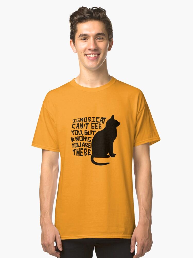 Ignoricat Classic T-Shirt Front