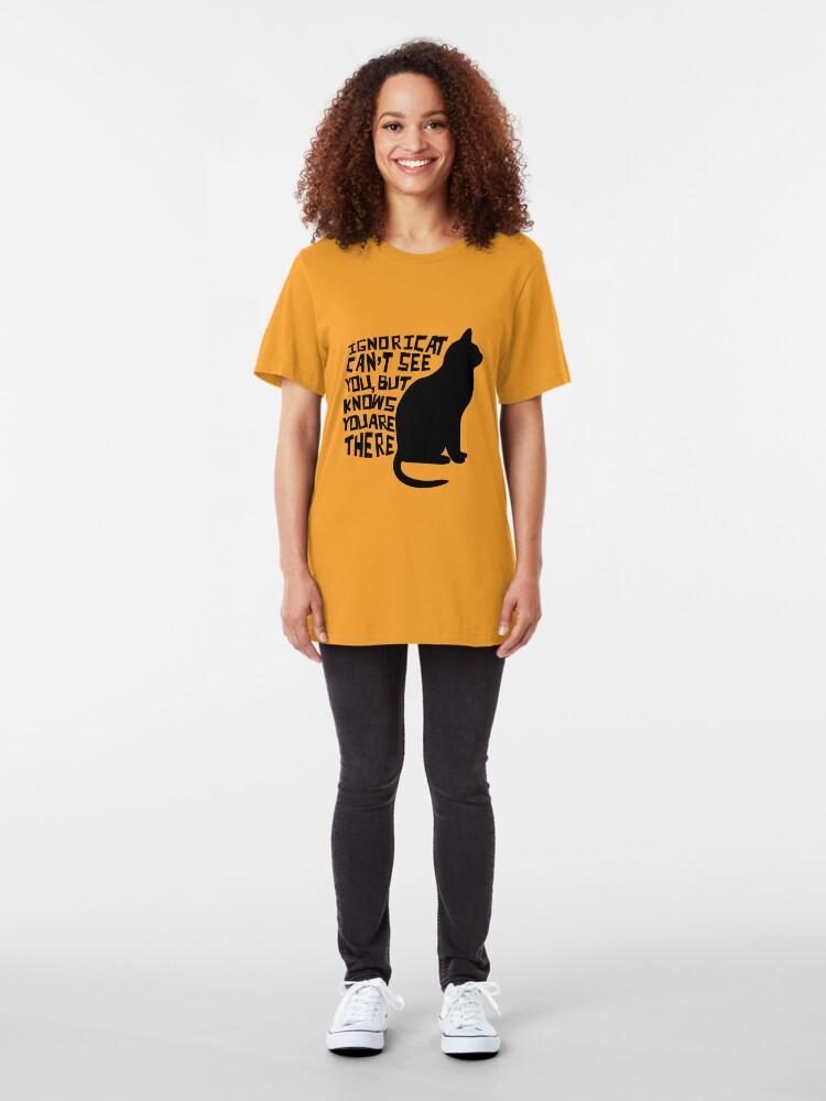 Alternate view of Ignoricat Slim Fit T-Shirt