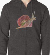 Snail Zipped Hoodie