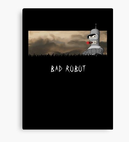 BAD ROBOT Canvas Print