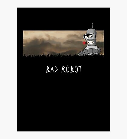 BAD ROBOT Photographic Print