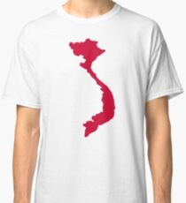 Vietnam map Classic T-Shirt