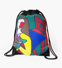 Happy Birthday Drawstring Bag