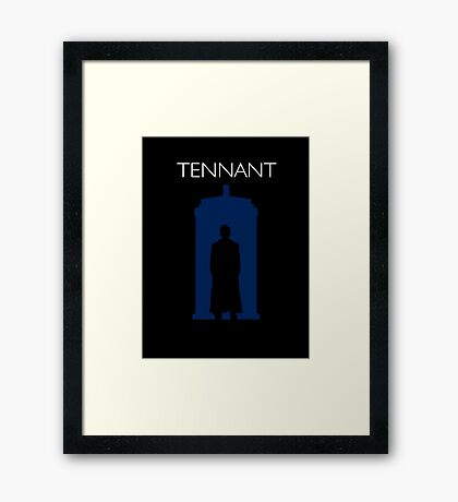 The Tenth Doctor Framed Print
