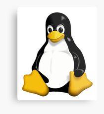 Linux Penguin Metal Print