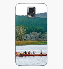 Surfboat on Lake Wallace Case/Skin for Samsung Galaxy
