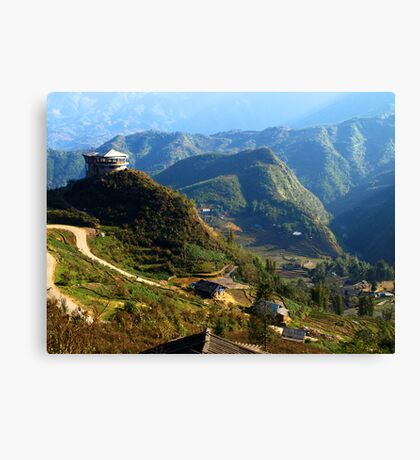 Mountains near Sapa, North Vietnam Canvas Print