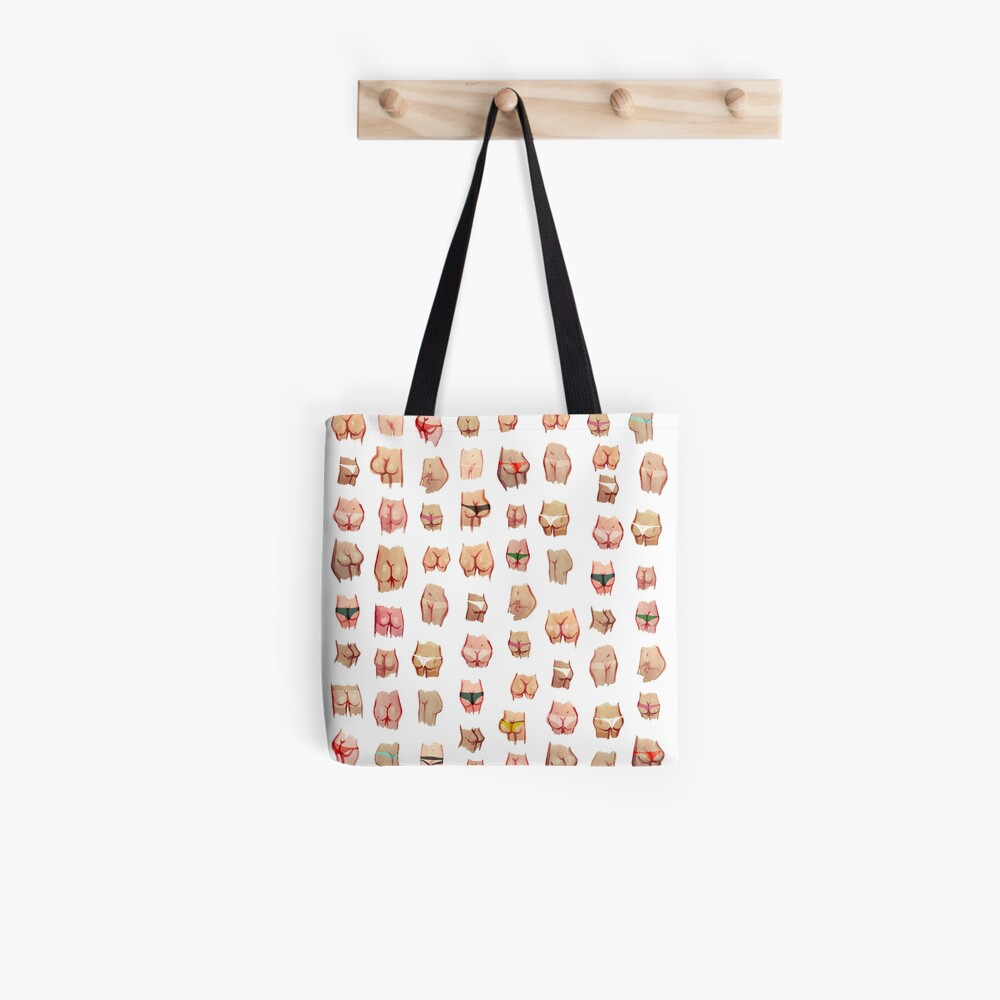 Water color butts Tote Bag