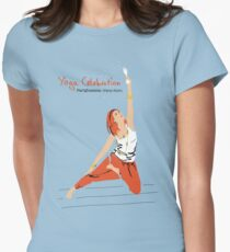 Yoga Celebration - Parighasana Party Style T-Shirt