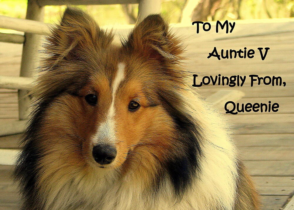 """Especially For """"Auntie V"""" by DottieDees"""