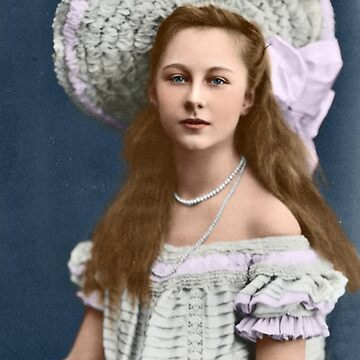 Victoria Louise of Prussia - Colorized by Laurynsworld