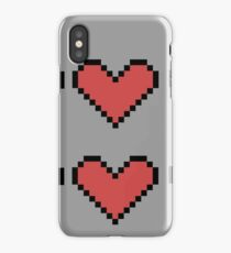 Geeky Hearts iPhone Case