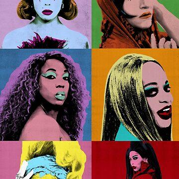 Warhol ball photo shoot  by Dylannn