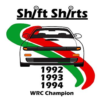 Shift Shirts Japan Arrives - WRC by ShiftShirts