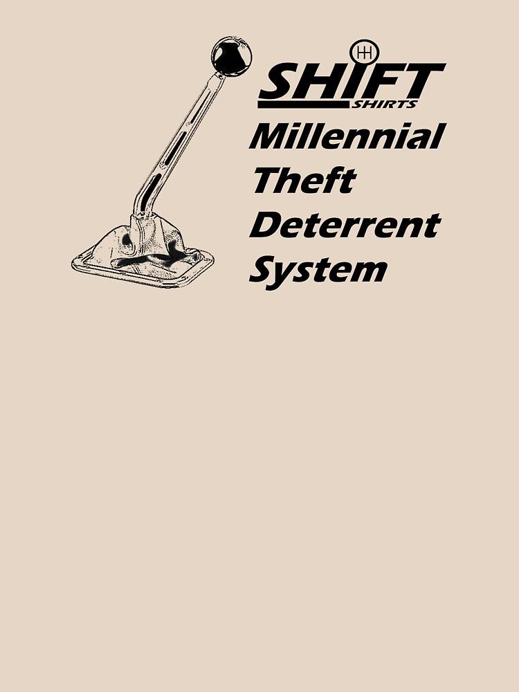 Shift Shirts Theft Deterrent - Manual Transmission by ShiftShirts