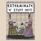 Chav Daleks by ToneCartoons