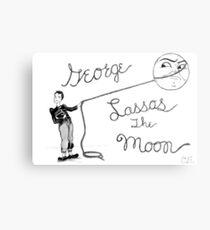 Lasso the Moon Metal Print
