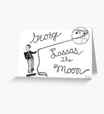 Lasso the Moon Greeting Card