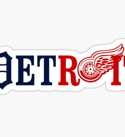 Detroit Sports Sticker
